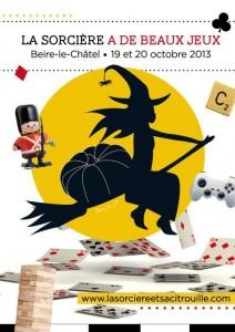 affiche sorciere citrouille beire 2013