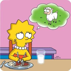 lisa-vegetarienne